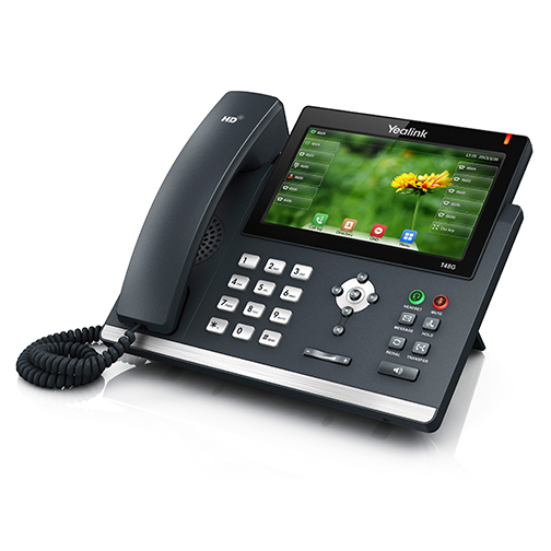 Yealink T48G hosted VoIP phone from Mereo Networks in Salt Lake City, Utah
